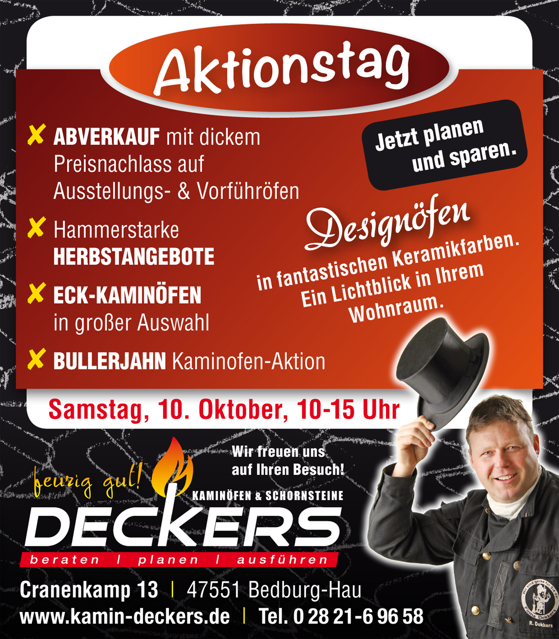 Aktionstag Deckers 10. 10. 2020
